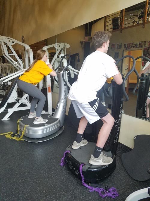 Baldwin Fitness Center - Power Plate Training